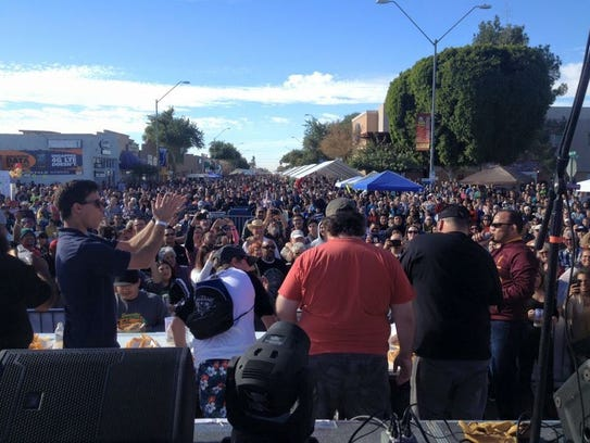 The Somerton Tamale Festival attracts about 30,000