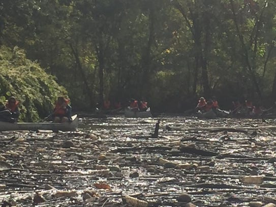 Members of Hackensack Riverkeeper and the community