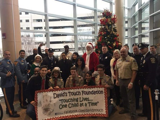 """David's Touch Foundation has a mission: """"Touching Lives"""