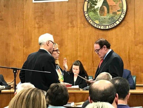 New Millburn Township Committee member Jackie Lieberberg,