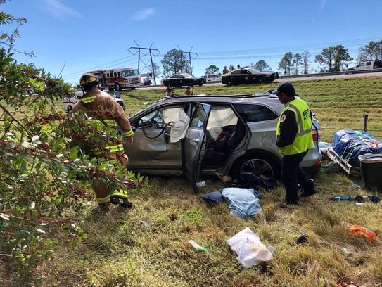 St. Lucie County Fire District crews responded to a