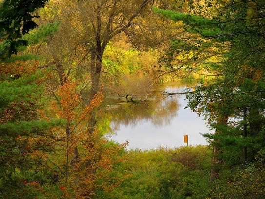 Spencer Crest Nature Center is a 250-acre plot of land