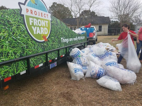 Project Front Yard members participated in the Krewe