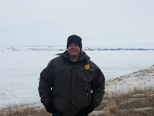 Indiana conservation officer Sgt. Ed Bollman.