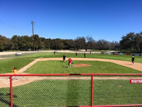 Christoval Little League plays at Pugh Park and hopes