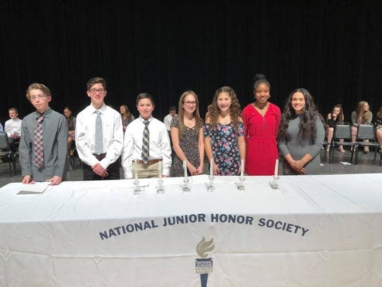 These eighth-grade students were among this year's