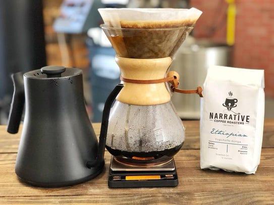 Narrative Coffee Roasters roasts high quality, single-origin