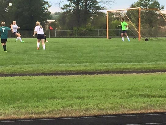 Nekoosa High School is unable to field a girls soccer team in the spring due to not having enough players. As a result the dedicated girls soccer players at the school have competed on a coed team in the fall.