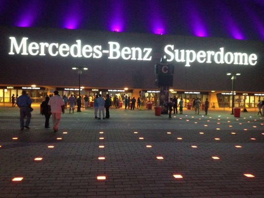 One of the country's most famous indoor stadiums, the