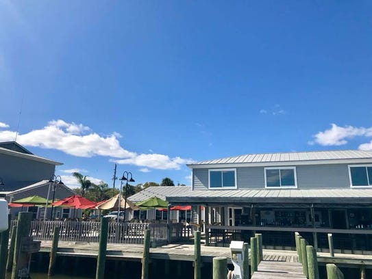 Capt'n Butcher's has views of the Indian River and