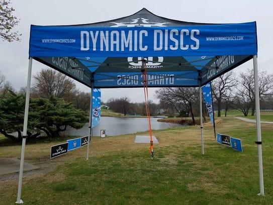 The 2018 Dynamic Discs Glass Blown Open is bening held