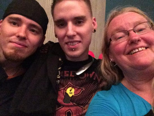 Twin brothers Justin Jongsma, left, and Kenny Jongsma,