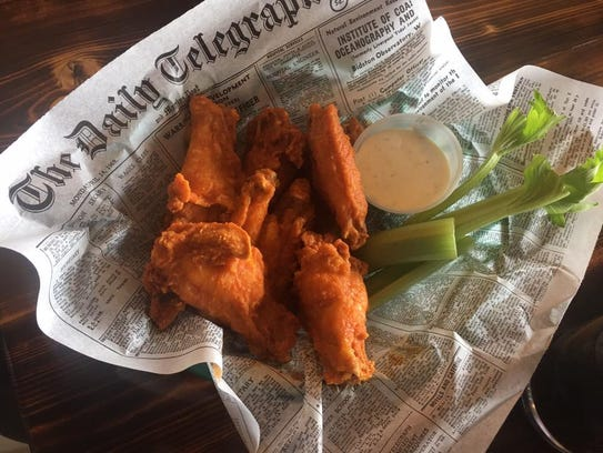 Scotty's Wings at Scotty's Grub and Pub in West Des
