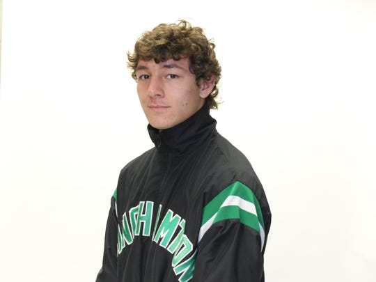 Norwich graduate Frankie Garcia has a 9-6 record for Binghamton University's wrestling team.