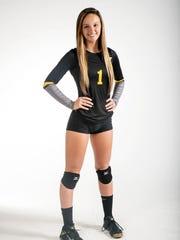 Alyssa Collins, Bishop Verot, Volleyball All-Area