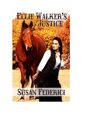 """Vineland Author Susan Federici's third novel, """"Ellie Walker's Justice,"""" will be published on Dec. 7 by Soul Mate Publishing."""