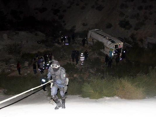 Juarez bus crash