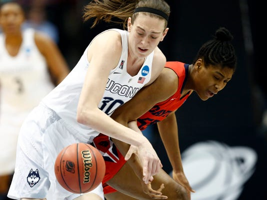 NCAA Womens Basketball: NCAA Tournament-Albany Regional-Dayton vs Connecticut