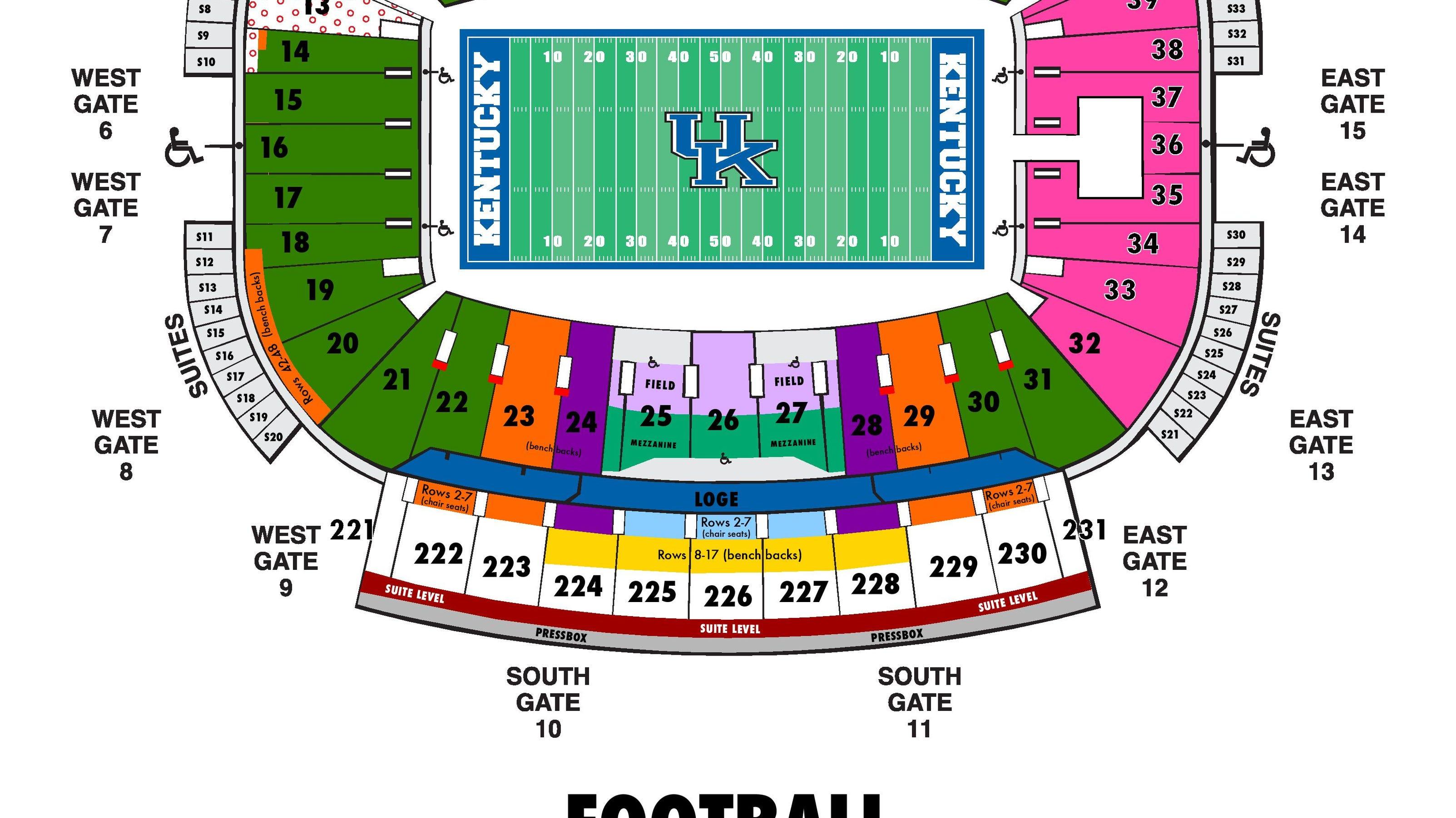 2015 Kentucky football season tickets on sale to 'The New ...