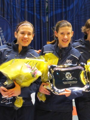 The U.S. women''s epee team made history by winning the first ever World Cup medal for the United States.