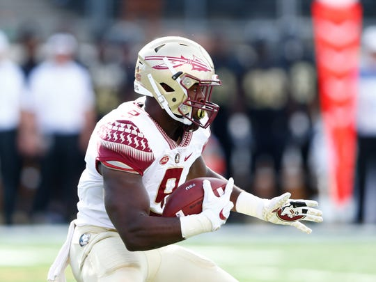 FSU running back Jacques Patrick had 120 yards rushing and a touchdown against Wake Forest.