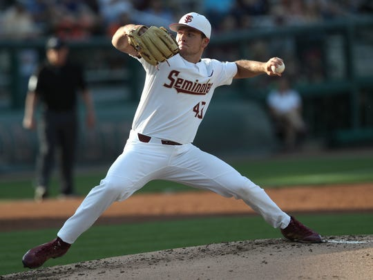 FSU?s Drew Parrish pitches eight scoreless innings