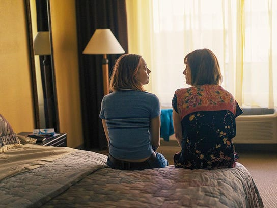 "Laurie Metcalf and Saoirse Ronan star in ""Lady Bird."""