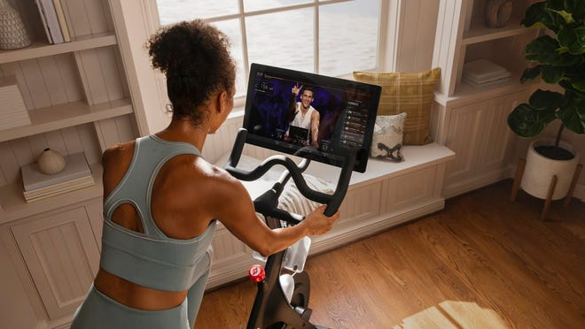Peloton's home-based exercise equipment is selling well during the COVID-19 crisis.