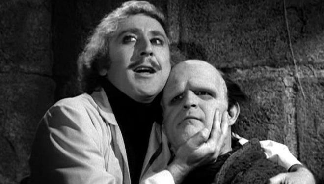 """The late Gene Wilder and Peter Boyle star in the 1974 Mel Brooks musical comedy, """"Young Frankenstein."""" Center for the Arts presents the stage adaptation Oct. 14-30, and shows are being dedicated to Wilder, who died Aug. 29, 2016."""