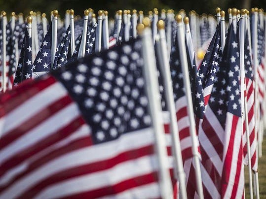 Flags of Honor Minnetrista 2015 closer