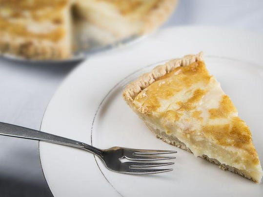Wicks sugar cream pie and slice