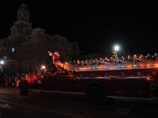 Antique Fire Truck TR Photo