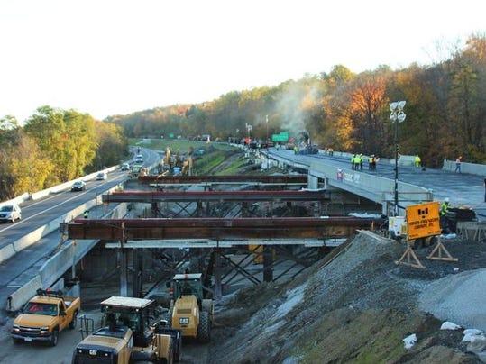 I-84 Southeast bridge replacement in Putnam