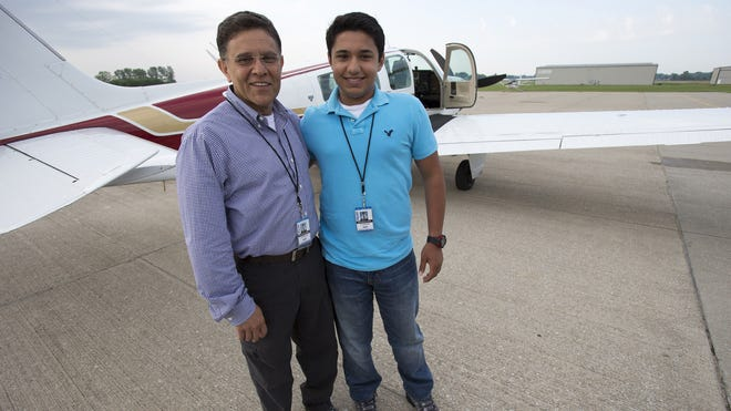 Babar Suleman and his son Haris Suleman, 17, of Plainfield, Ind., left Thursday, June 19, for an around-the-world flight they were hoping would take 30 days. The single-engine plane they were traveling in crashed in the Pacific Ocean off the coast of American Samoa on July 23.