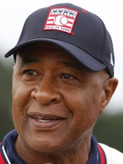 Former St. Louis Cardinals shortstop Ozzie Smith is