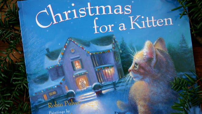 Christmas for a Kitten.