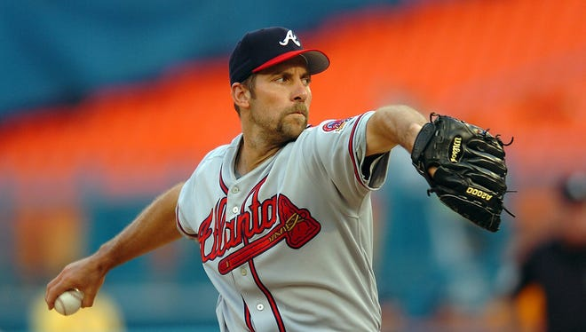 John Smoltz is up for election to the Hall of Fame in 2015.