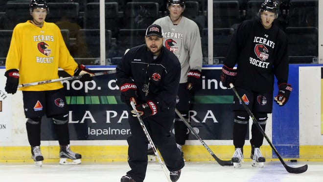 IceRays' coach Brad Flynn and his squad will face Shreveport for two games at the American Bank Center in between Christmas and New Year's Day.