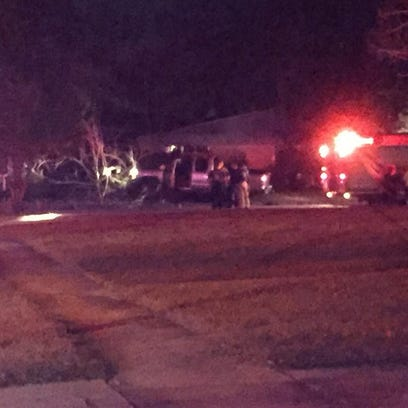 Crews on the scene of a reported shooting on the Westside.