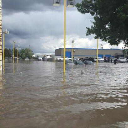 Flooding in Twin Falls