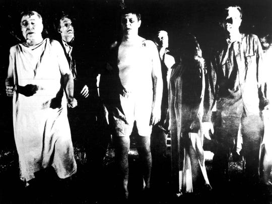 """""""Night of the Living Dead"""" is among the horror classics due Oct. 27-29 at the Detroit Film Theatre."""