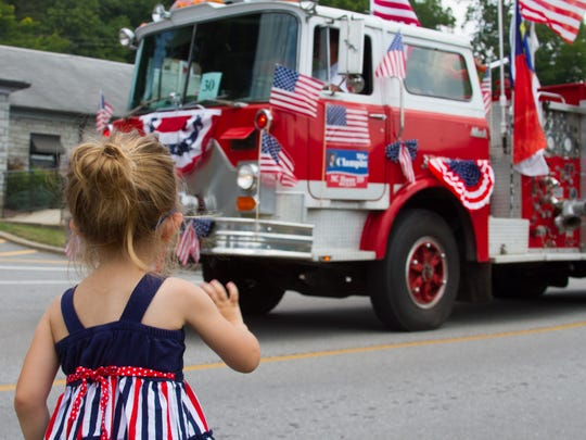 The Lake Junaluska Independence Day Parade has been an annual tradition since 1978.