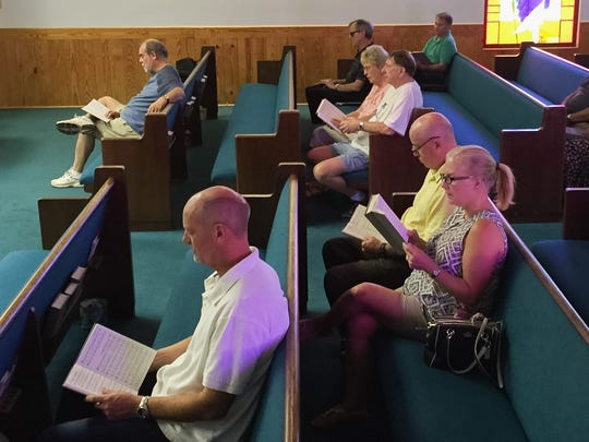 Brevard churches resumed services on Sunday after Hurricane