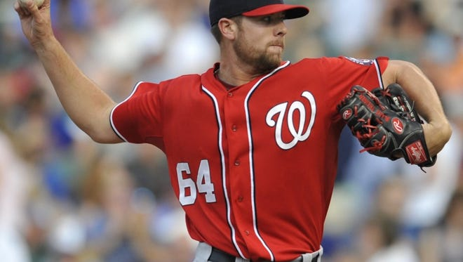 SDSU alum Blake Treinen is in his 2nd year with the Washington Nationals.