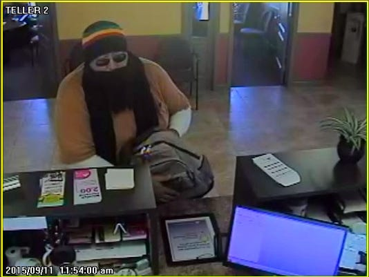 This photo shows a man Pennsylvania State Police believe robbed a Corning Credit Union.