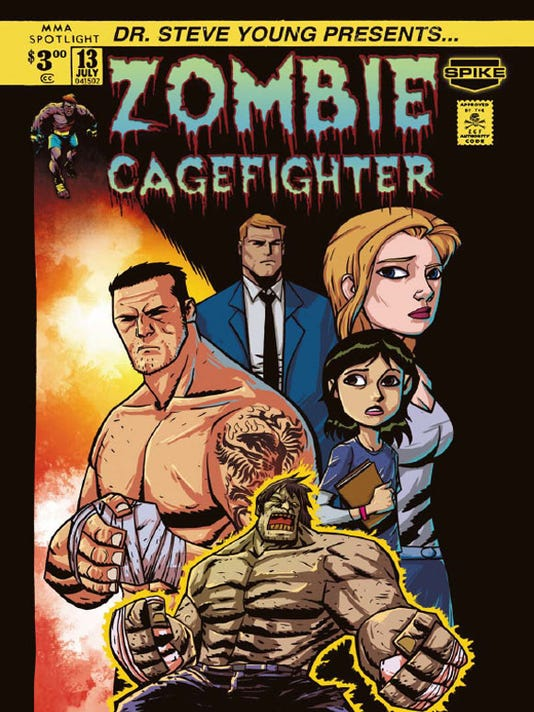 """Nate Quarry """"Zombie Cage Fighter"""""""
