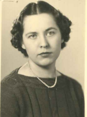 Undated photo of former Two Rivers Public Schools fifth-grade teacher Miriam Olmsted, who celebrates her 100th birthday Nov. 30.