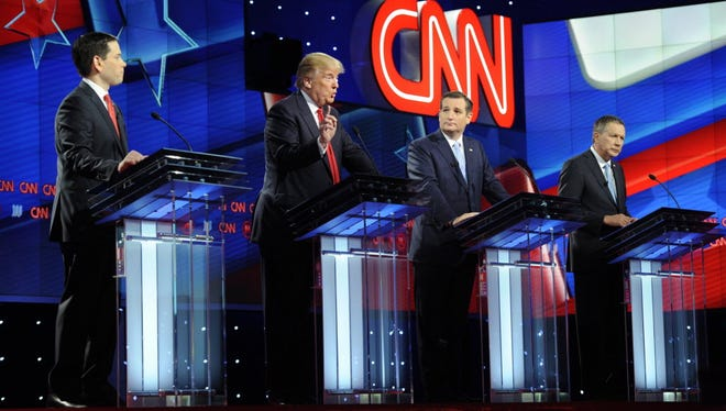 GOP debate in Miami on March 10, 2016.