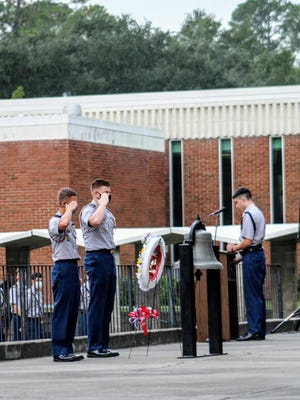 Benedictine Military School Friday morning honored the memory of those who died as a result of the Sept. 11, 2001, terrorist attacks on America.