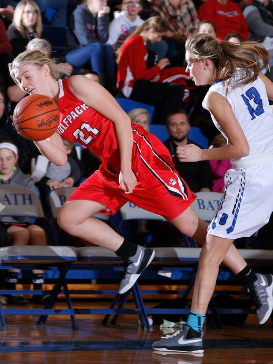 Laingsburg at Bath Girls Basketball